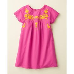 Mexicana Embroidered Cotton Dress - Baby Girls & Girls