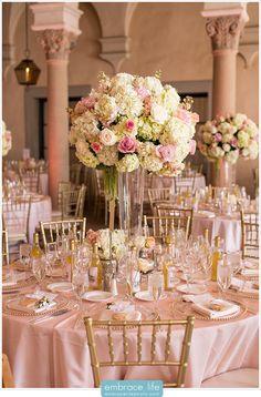 Pink Wedding Decoration Ideas. #ezeevents