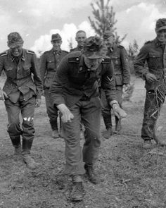 Soldiers Of The 8th SS Kavallerie Division Florian Geyer Having Some Fun