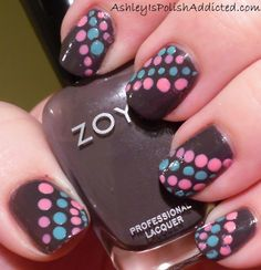 Ashley is PolishAddicted: Zoya Petra gets Spotted! With Swatches and Review