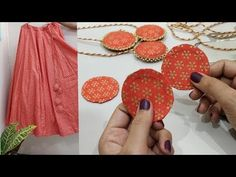 Bead Embroidery Tutorial, Hand Embroidery Videos, Bead Embroidery Patterns, Hand Embroidery Designs, Beaded Embroidery, Kurti Embroidery, Saree Tassels Designs, Saree Kuchu Designs, Blouse Designs