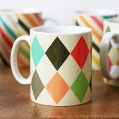 Diamond mug by Petra Boase