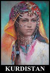 Kurdish Dresses by Rana : Kurdish Art - fashions - old and new. Gypsy Girls, Gypsy Women, Spanish Gypsy, Arabian Women, Vintage Gypsy, Woman Drawing, Female Drawing, Turkish Art, Portraits