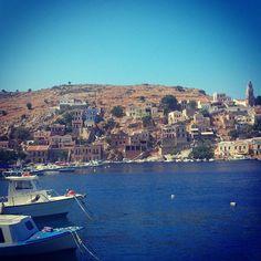 Symi Greece #greece #symi #water #blue #onlyingreece @Costa Arvanitopoulos