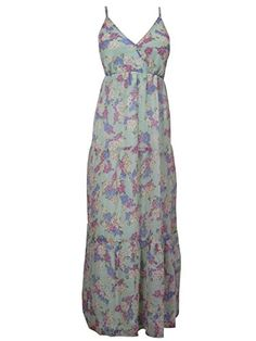 Boho Casual Dress Floral Printed Long Maxi Womens Sundress Mogul Interior http://www.amazon.com/dp/B00VSUM93W/ref=cm_sw_r_pi_dp_603jvb0JQCG4X
