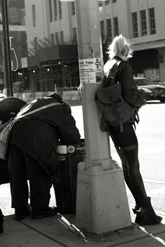Tenth Ave., New York - New York I love you, too bad you brought me down.     Aren't her shoes amazing?!