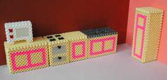 3D Kitchen Nabbi Beads by Emos Pärlkonst - Parlkonst.se