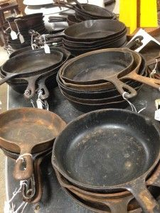 Vintage Cast Iron Cookware at Vintage Depot ( maybe on the next estate /yard sale ( ~.
