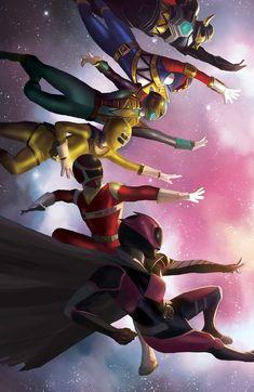 Power Rangers Fan Art, Power Rangers Comic, Power Rangers Ninja Storm, Power Rangers Zeo, Power Rangers In Space, Pawer Rangers, Mighty Morphin Power Rangers, Fantasy Fiction, Digimon