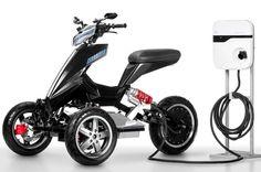 Sporty Tilting Electric Trike