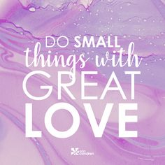 BIG things don't happen everyday, but small things do! Give those little things your whole  .... you'll make a difference. #ECquotes #Quotes #ErinCondren