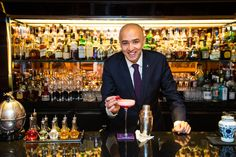 Treat yourself to head barman Maurizio Parlermo's signature cocktails at BAR 45
