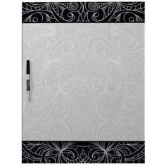 Dry Erase Board Floral abstract background  http://www.zazzle.com/dry_erase_board_floral_abstract_background-256083937268505411