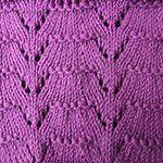 knitting patterns for beginners Fan