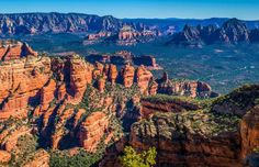 The iconic canyons and buttes of Sedona's Red Rock country.