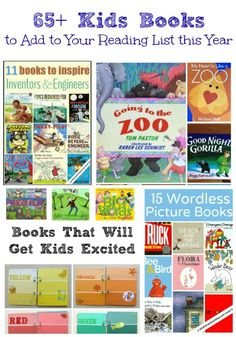 Great books to add to your reading list -- titles that the kids will beg you to read and re-read!