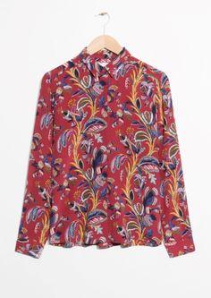 & Other Stories   Silk Shirt