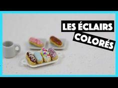 Éclairs Colorés Tuto Fimo polymer clay tutorial