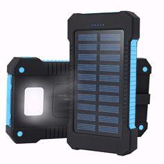 メルカリ商品: 【未開封品】OJA ソーラーモバイルバッテリー 10000mAh(青) #メルカリ