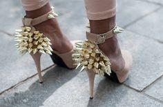 Studded heels - Literally killing it!