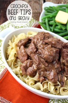 Crockpot Beef Tips with Gravy My Easy Crockpot Beef Tips takes only minutes to prepare. Then it just cooks all by itself! This tender, juice beef makes an instant family favorite!My Easy Crockpot Beef Tips takes only minutes to prepare. Then it just cooks Crockpot Dishes, Crock Pot Slow Cooker, Crock Pot Cooking, Beef Dishes, Slow Cooker Recipes, Food Dishes, Crockpot Recipes, Cooking Recipes, Cooking Oil