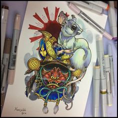 Tattoo design by Xenija88 http://xenija88.deviantart.com/art/Tattoo-design-489995769