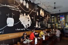 17 Best Wall Murals Images Restaurant Design Murals Restaurants
