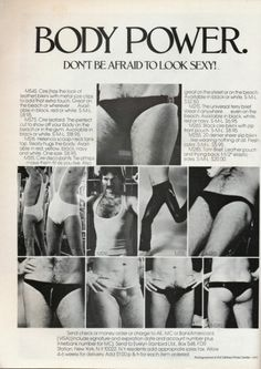 """They're saying, """"don't be afraid to look sexy,"""" but what they don't tell you is """"looking this sexy will make people afraid."""" 