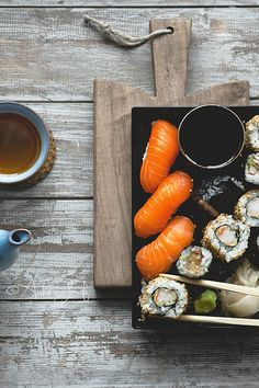 Sushi and Tea | Flickr: Intercambio de fotos