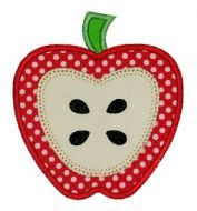 apple for applique