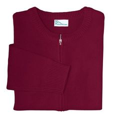 Juniors Zip Front Sweater by Classroom Uniforms. Assorted Colors Classroom Uniforms. $12.69