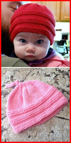 Baby Beanie - Free Pattern - Knitting is as easy as 3 The knitting . Baby Beanie – Free Pattern – Knitting is as easy as 3 Knitting boils down to three Baby Knitting Patterns, Baby Hats Knitting, Knitting Stitches, Baby Patterns, Free Knitting, Beanie Babies, Knitted Baby Beanies, Knitted Hats, Baby Knits