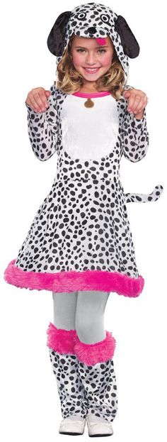 Seeing Spots Puppy Dog Kids Costume - Mr. Costumes