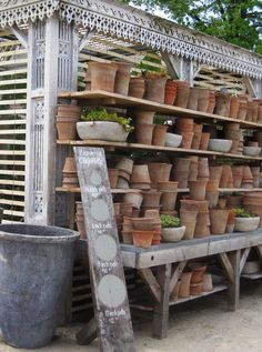 Lath potting shed, Terrain at Styers