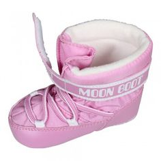Moon Boot by Tecnica Crib Baby Winterstiefel Hell Rose (rosa)