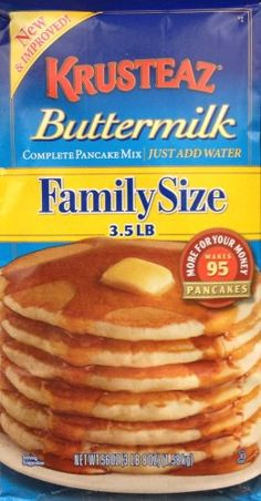 Krusteaz BUTTERMILK Complete Pancake Mix 35 LB Family Size *** See this great product.(This is an Amazon affiliate link)