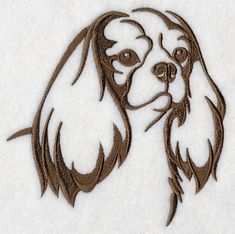 Machine Embroidery Designs at Embroidery Library! - Cavalier King ...