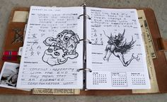 """""""Canon"""" pages for my journal project. #SPN #Supernatural, #JohnsJournal"""