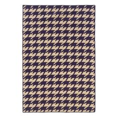 Linon Salonika Houndstooth Area Rug - 5 x 8 ft., As Shown
