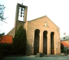 St. Michaelkerk, de Bilt. Architect: B.J. en H.M. Koldewey, 1955.