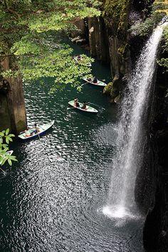 Manai Waterfall / 真名井の滝(まないのたき) by Tanaka Juuyoh on Flickr - Takachiho-kyo Gorge, Nishi-Usuki-gun, Miyazaki-ken, Japan