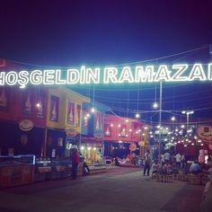 Hosgeldin Ramazan !