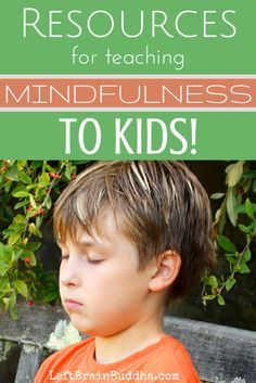 Books, websites, and tons of activities to teach mindfulness to little ones! Mindful parenting tips to help teach mindfulness to kids. Teaching Mindfulness, Mindfulness Exercises, Mindfulness For Kids, Mindfulness Activities, Mindfulness Meditation, Mindfulness Training, Relaxation Activities, Mindfulness Benefits, Vipassana Meditation
