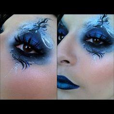 fantasy blue makeup extreme- snow queen?