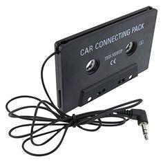 Universal Car Audio Cassette Adapter, Black eForcity  - $4