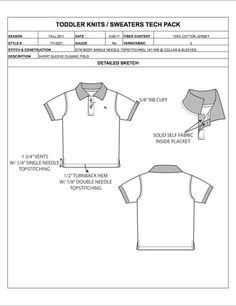 Instead of developing garment spec sheets from scratch and manually calculating apparel size grading, use our Fashion Tech Pack Templates and Sample Specs for Women, Men, Plus Size, and Childrenswear to easily prepare your apparel designs for production! Dress Sketches, Flat Sketches, Flat Drawings, Fashion Sketches, Technical Drawings, Drawing Fashion, Fashion Flats, Fashion Outfits, Fashion Design Portfolio