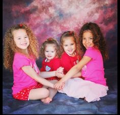 The haschak sisters when they were little