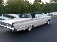 1960 Lincoln Continental Convertible Maintenance/restoration of old/vintage vehicles: the material for new cogs/casters/gears/pads could be cast polyamide which I (Cast polyamide) can produce. My contact: tatjana.alic@windowslive.com