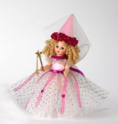 Pretty Pink Fairy Doll  Note: Dakota Fanning also fancies collecting Madame Alexander dolls!