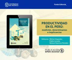 Fondo Editorial de la Universidad del Pacífico. Libro: Productividad en el Perú - post para redes sociales.